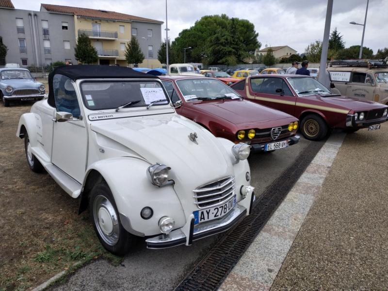 30 - Marguerittes  : rassemblement de véhicules anciens le 22 sept 2019 Margue23