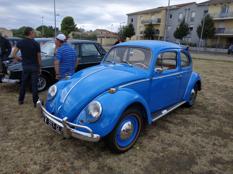 30 - Marguerittes  : rassemblement de véhicules anciens le 22 sept 2019 Margue33