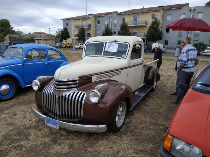 30 - Marguerittes  : rassemblement de véhicules anciens le 22 sept 2019 Margue34