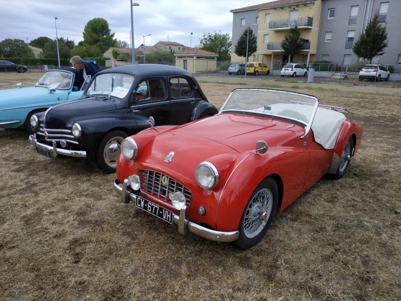 30 - Marguerittes  : rassemblement de véhicules anciens le 22 sept 2019 Margue37