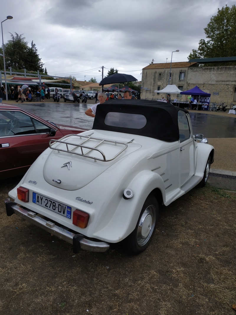 30 - Marguerittes  : rassemblement de véhicules anciens le 22 sept 2019 Margue38