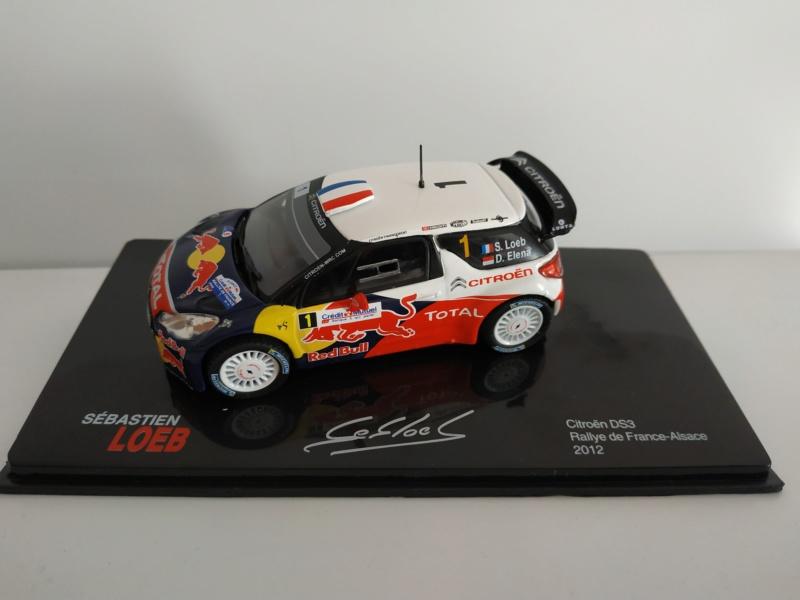 """2018 NOUVEAU > ALTAYA > """"Collection Sébastien Loeb"""" au 1/43  Miniat11"""
