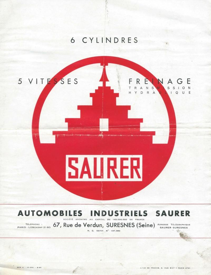 Pubs et catalogues SAURER Saurer13