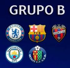 GRUPO B - CHAMPIONS LEAGUE Grupo_11