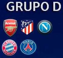 GRUPO D - CHAMPIONS LEAGUE Grupo_13