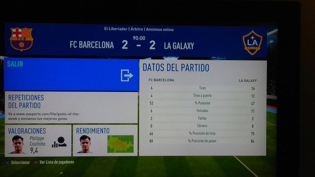 Amistoso FC Barcelona 2 - 2 LA Galaxy, 07-01-2019 Img_2010