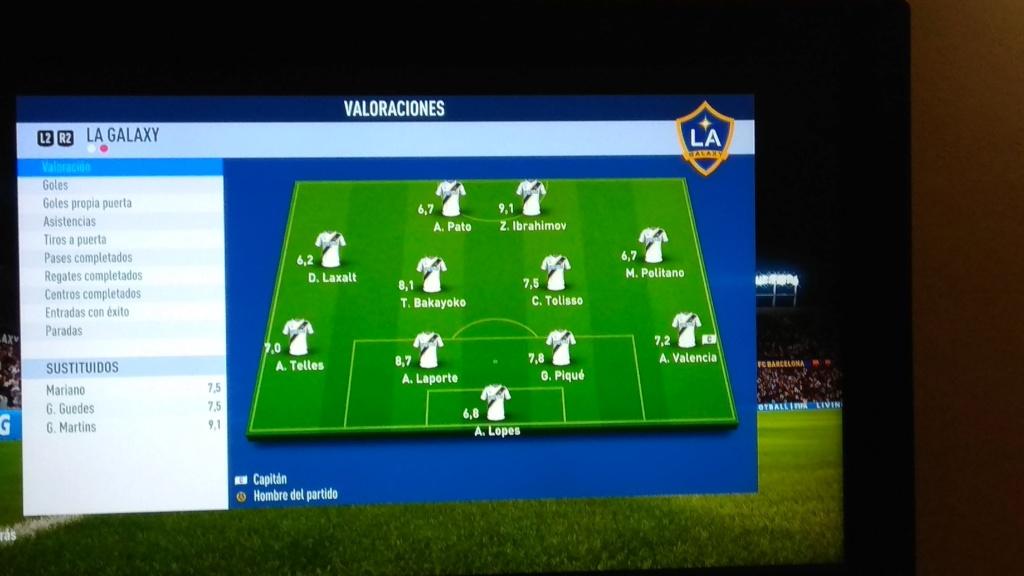 Amistoso FC Barcelona 2 - 2 LA Galaxy, 07-01-2019 Img_2012