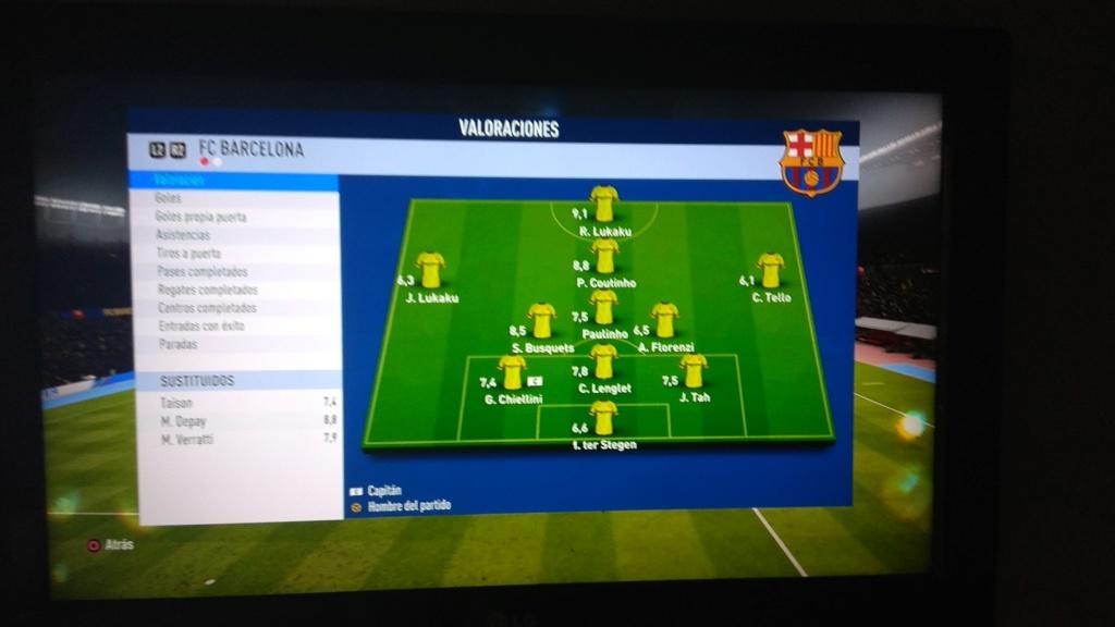 Amistoso FC Barcelona 2 - 2 At. Madrid 11-1-2019 Img_2016