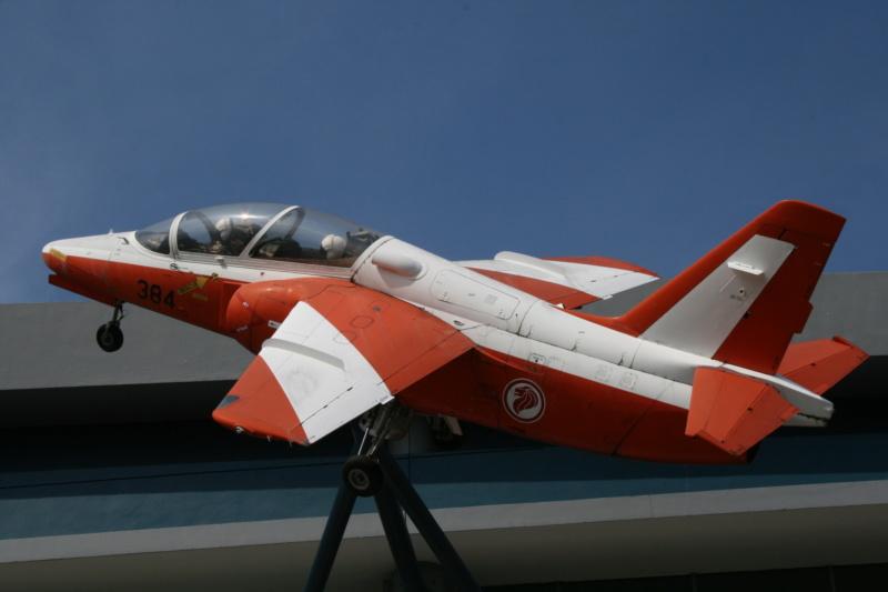 visite du air force museum de SINGAPOUR Img_1519