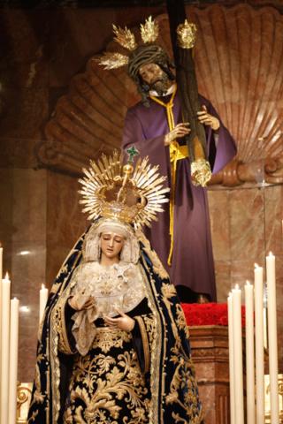 Solemne Triduo a María Santísima del Mayor Dolor y Traspaso.  Triduo14