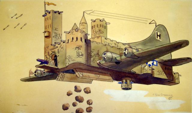 Prototype forteresse volante. Flying10