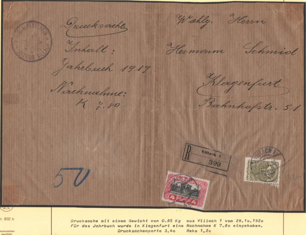 Inflation in Österreich - Belege - 1918 bis 1925 - Seite 27 Drs65010