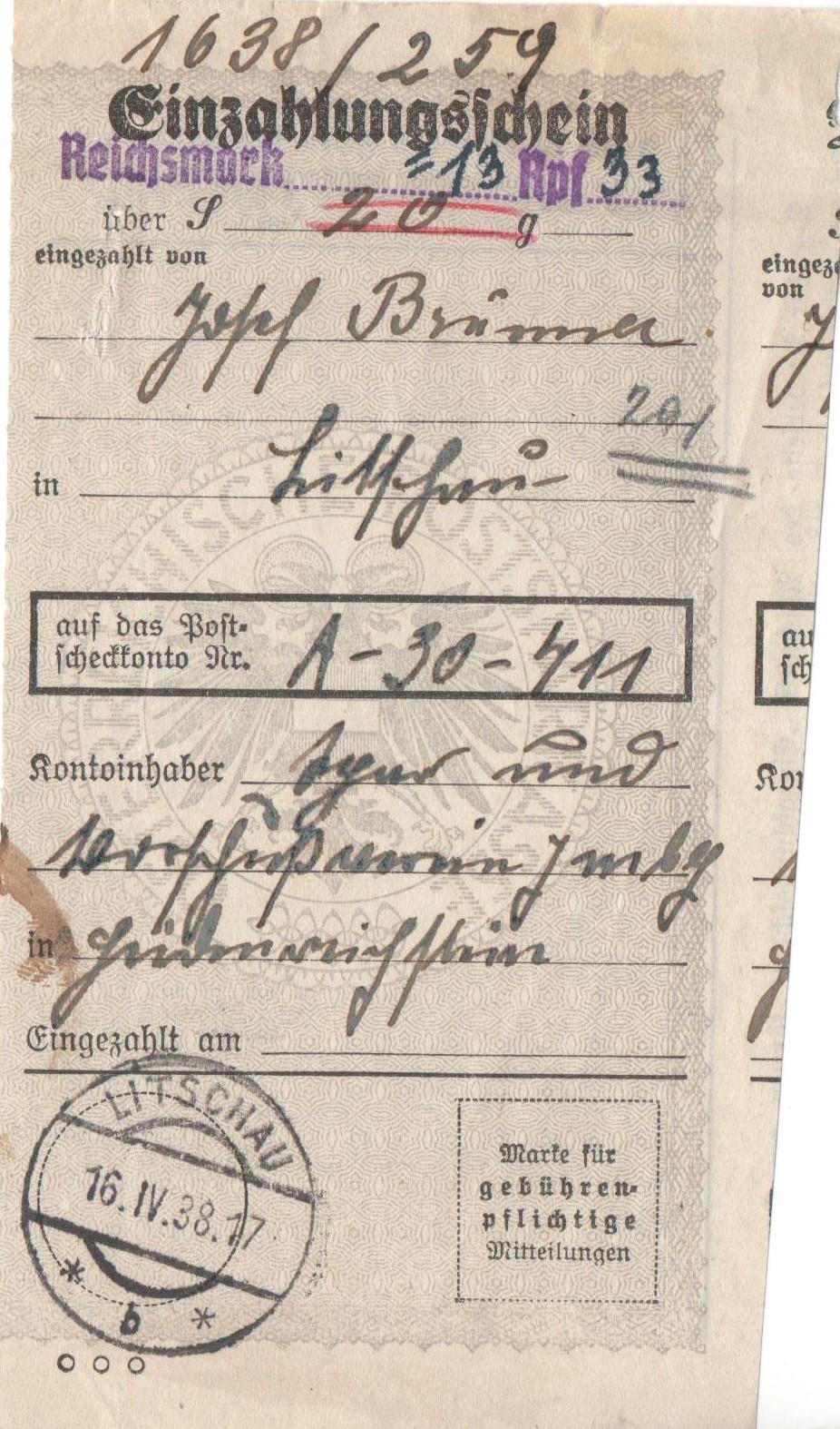 Österreich im III. Reich (Ostmark) Belege - Seite 27 Erlag410