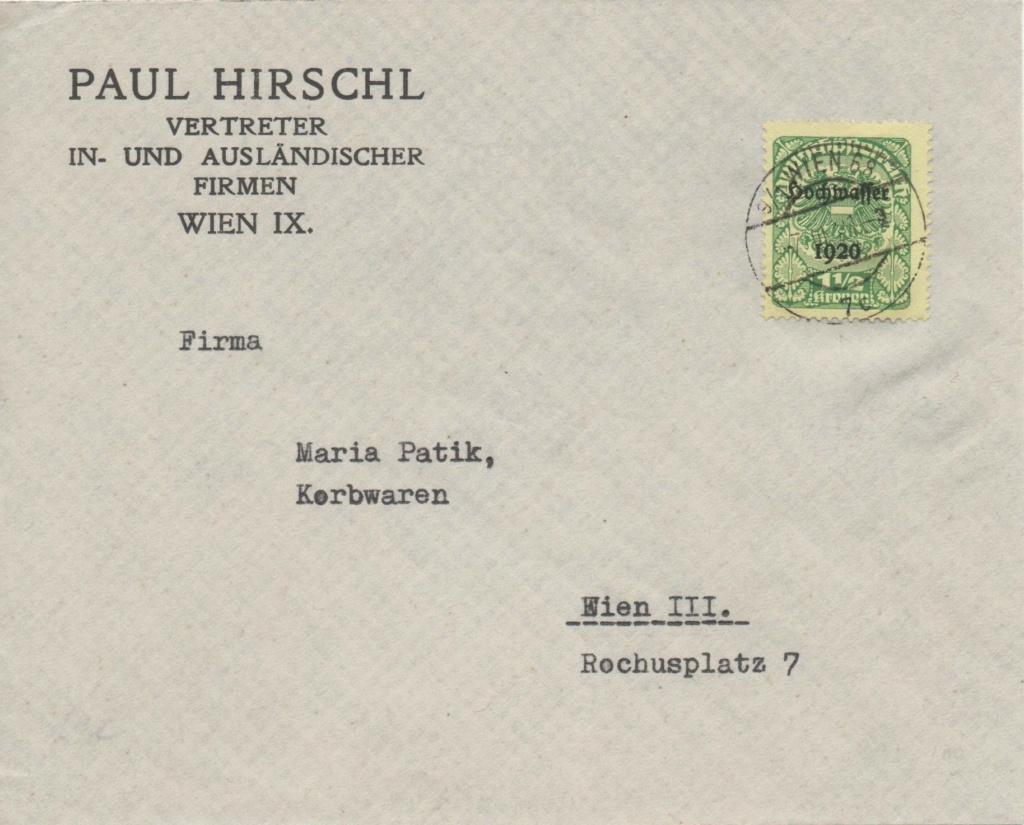 Inflation in Österreich - Belege - 1918 bis 1925 - Seite 27 Inflah10