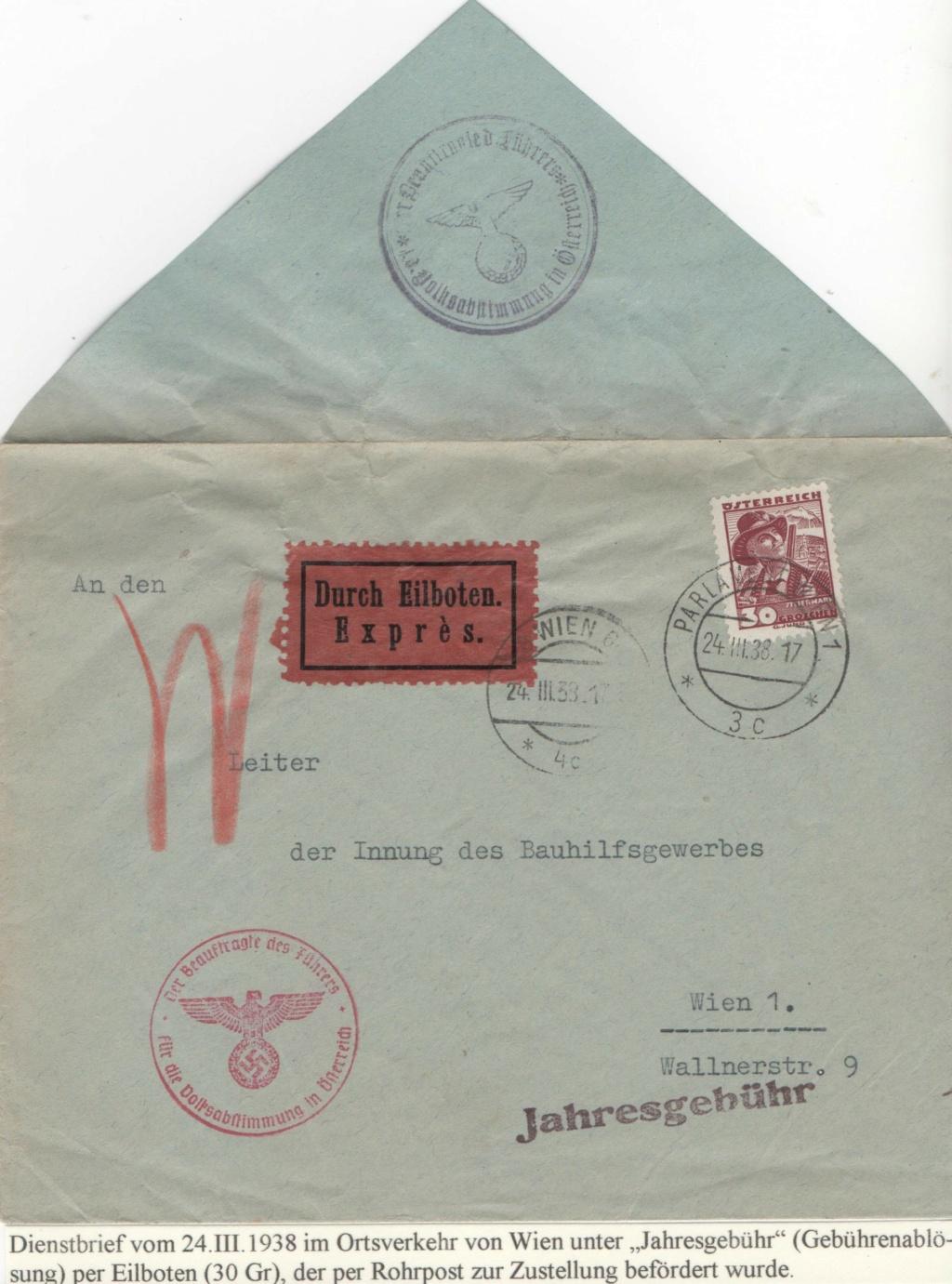 Österreich im III. Reich (Ostmark) Belege - Seite 26 Jahres10