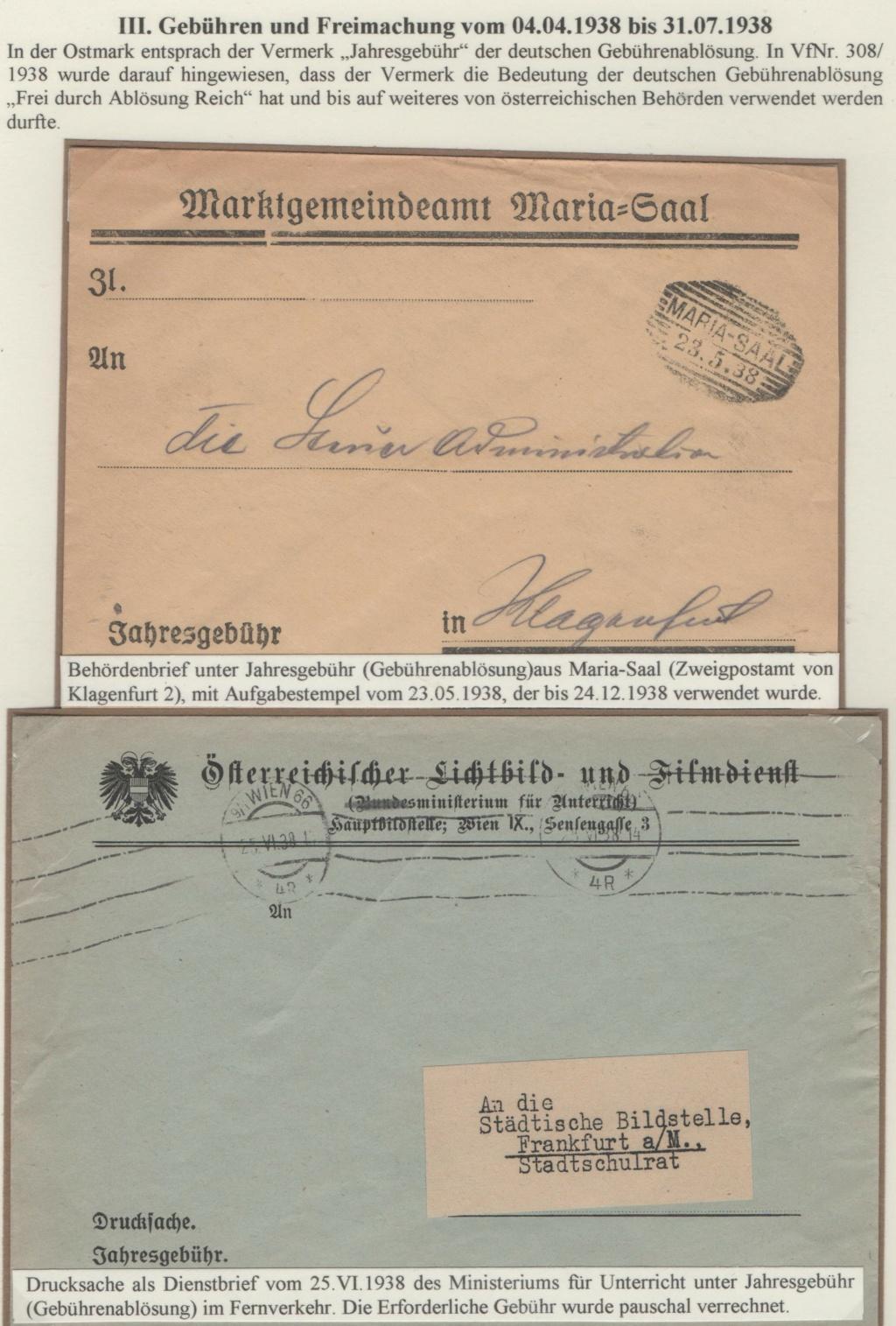 Österreich im III. Reich (Ostmark) Belege - Seite 26 Jahres15