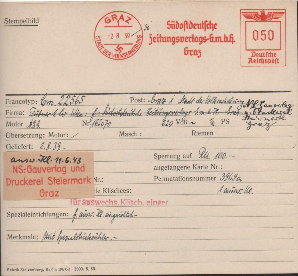 Österreich im III. Reich (Ostmark) Belege - Seite 27 Omfrei10