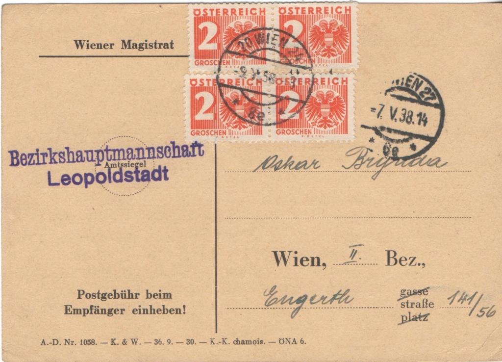 Österreich im III. Reich (Ostmark) Belege - Seite 27 Porto410