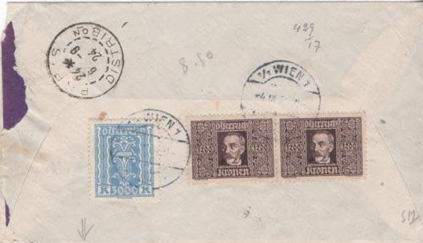 Inflation in Österreich - Belege - 1918 bis 1925 - Seite 23 Scan-136