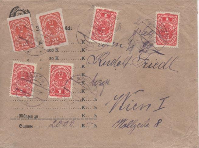 Inflation in Österreich - Belege - 1918 bis 1925 - Seite 24 Scan-170