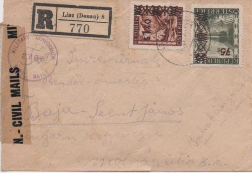 Sammlung Bedarfsbriefe Österreich ab 1945 - Seite 11 Scan-212