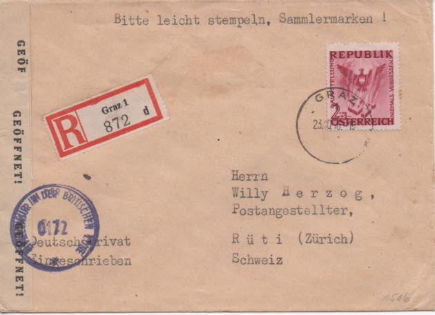 Sammlung Bedarfsbriefe Österreich ab 1945 - Seite 11 Scan-215