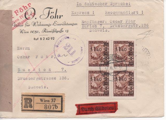 Sammlung Bedarfsbriefe Österreich ab 1945 - Seite 11 Scan-216