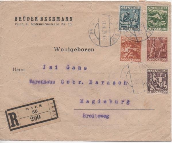 Inflation in Österreich - Belege - 1918 bis 1925 - Seite 21 Scan-349