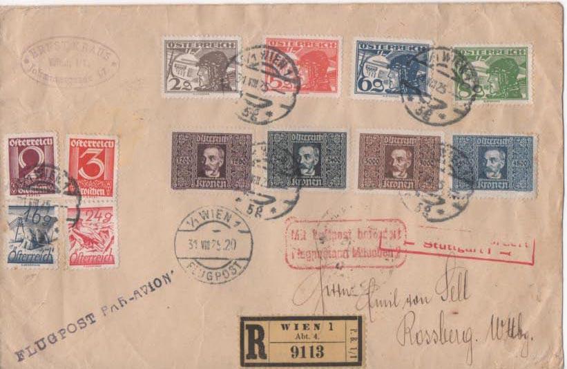 Inflation in Österreich - Belege - 1918 bis 1925 - Seite 22 Scan-352