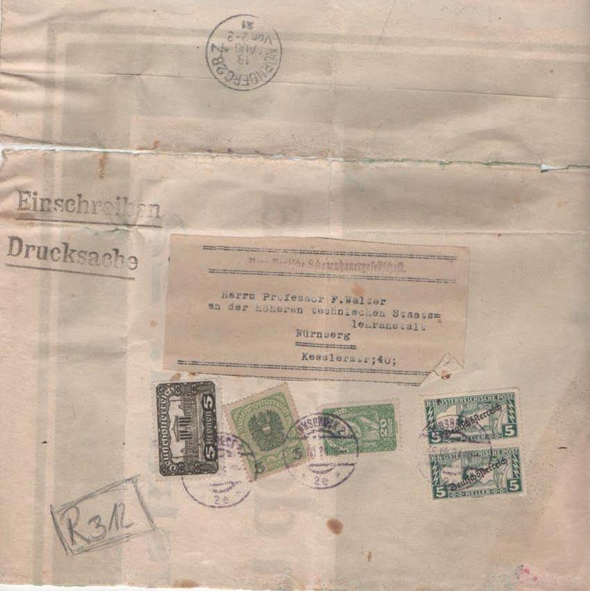 Inflation in Österreich - Belege - 1918 bis 1925 - Seite 22 Scan-353