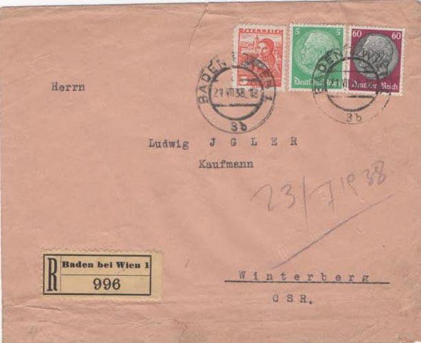 Österreich im III. Reich (Ostmark) Belege - Seite 23 Scan-395