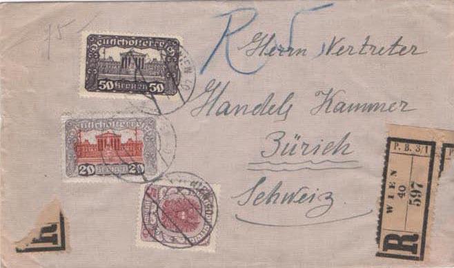 Inflation in Österreich - Belege - 1918 bis 1925 - Seite 26 Scan-398