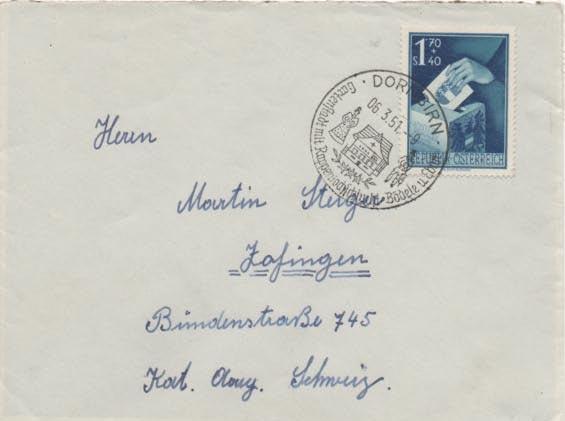 Sammlung Bedarfsbriefe Österreich ab 1945 - Seite 12 Scan-410