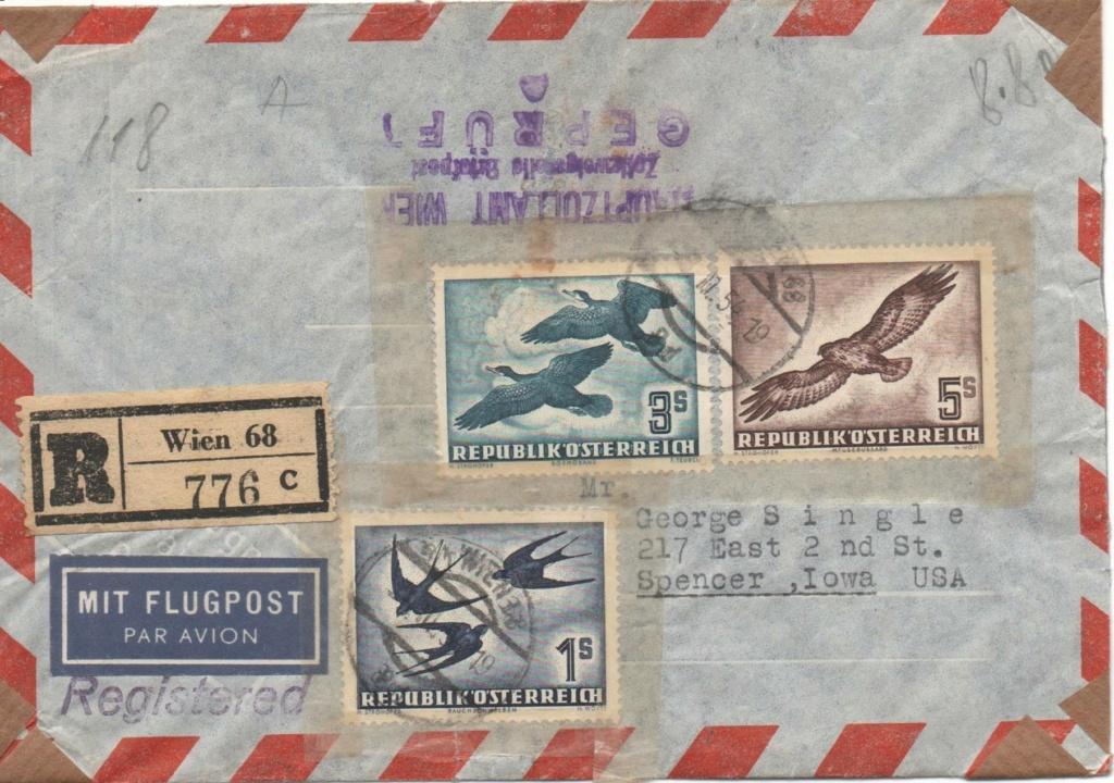 Flugpostserie II Heimische Vogelwelt in Stadt und Land - Vögel Vzgel110