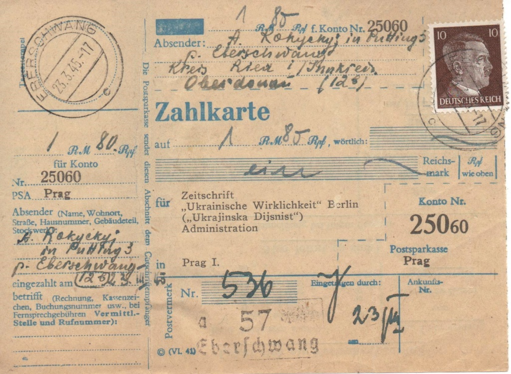 Österreich im III. Reich (Ostmark) Belege - Seite 26 Zahlkt10