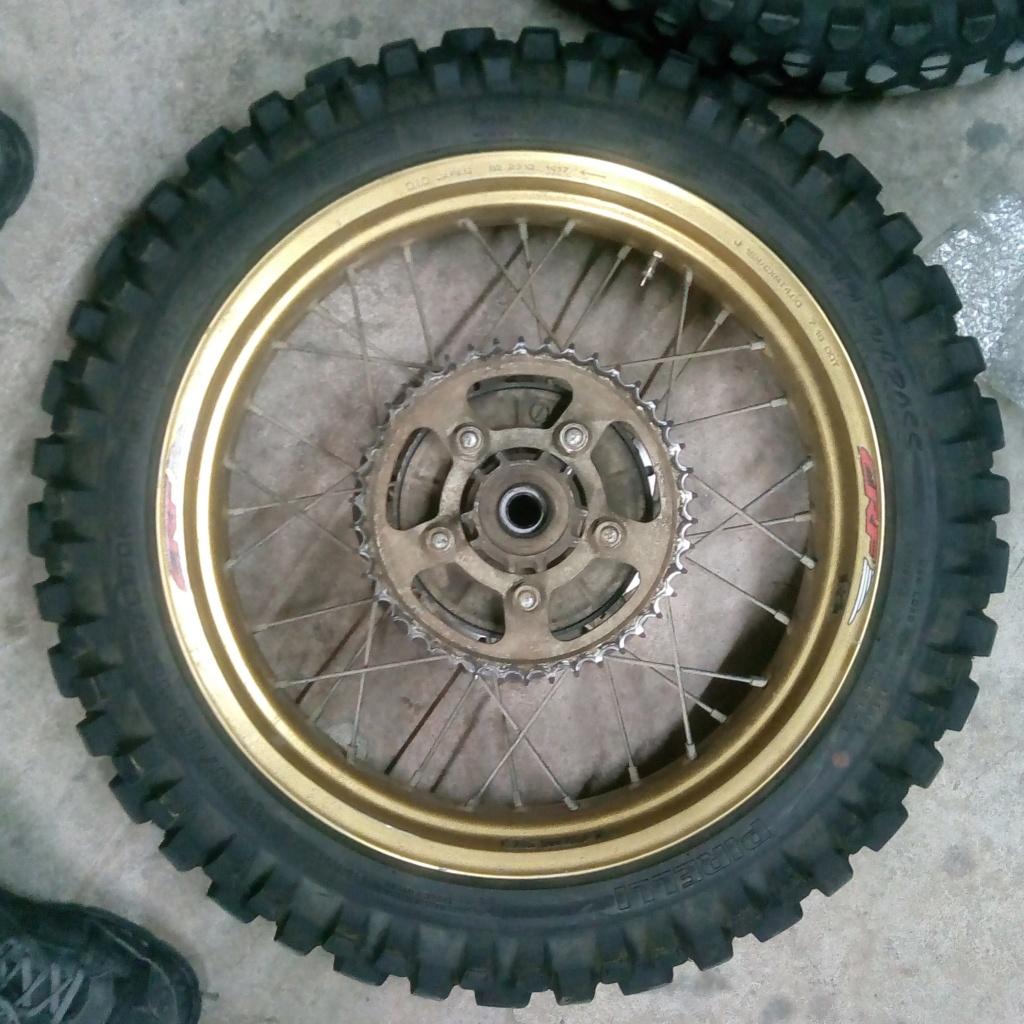[VENDS] Jantes CRF 1000 avec pneu TT P_201814
