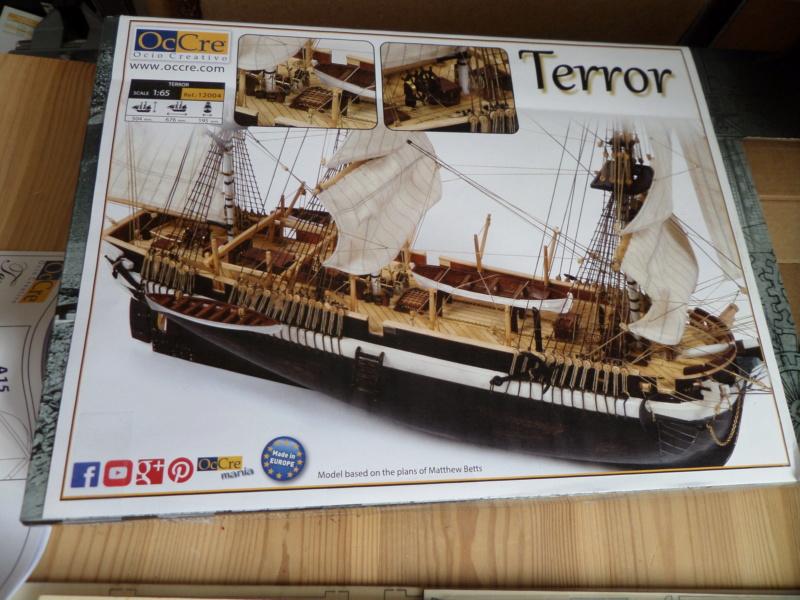 Montage du HMS Terror de notre partenaire OCCRE - 1/65 Sam_5110