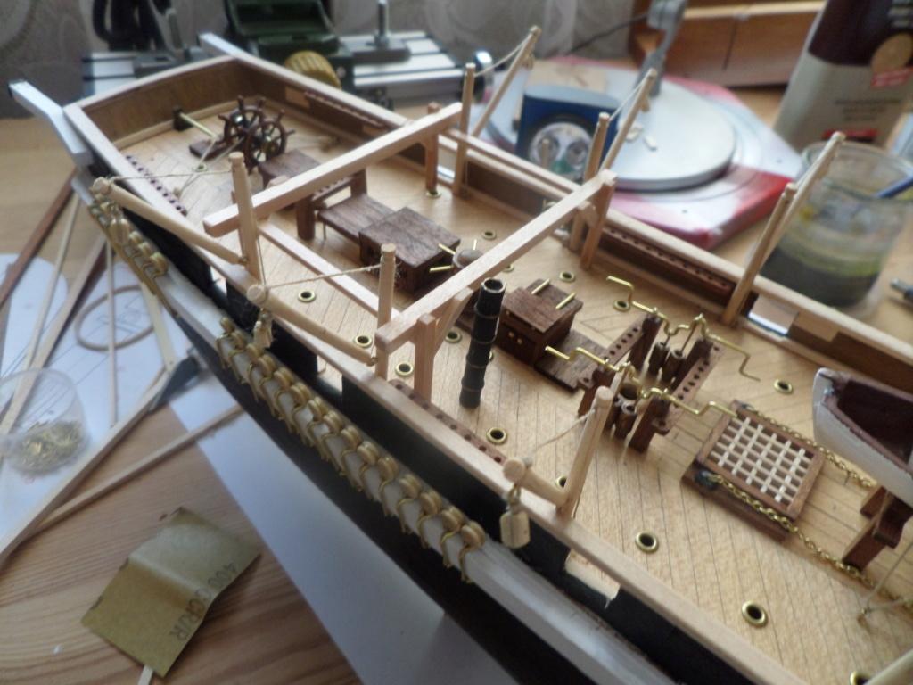Montage du HMS Terror de notre partenaire OCCRE - 1/65 - Page 7 Sam_6213
