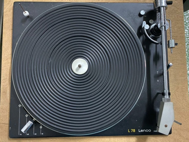 Lenco L78 Turntable Swiss Made( Used) Whatsa13