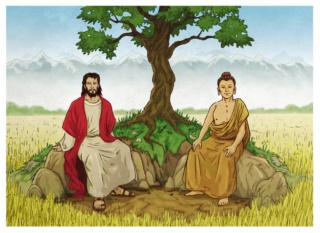 Bouddhisme et christianisme Jesus_10