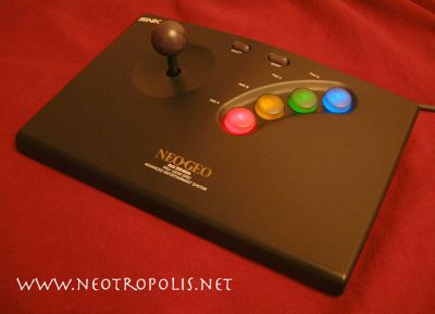 Stick NeoGeo avec boutons LED Joysti10