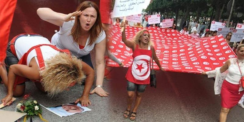 بعد أن أثارت صورتها جدلا: المرأة التي ''ركعت'' لصورة بورقيبة توضّح Bourgu10