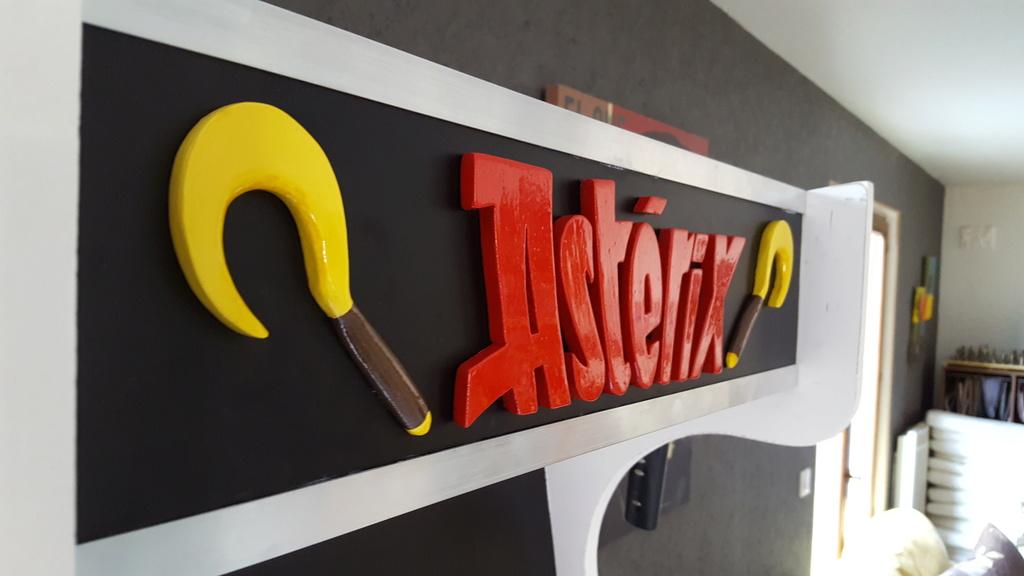 [WIP] Borne arcade Asterix  20180513