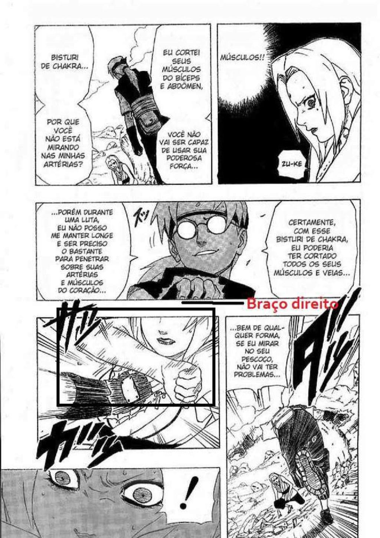 Força física ou liberação de chakra, qual método usado pela tsunade e pela Sakura? 11ok-112