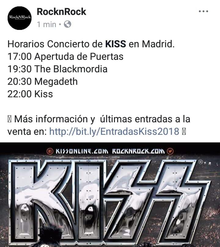 CONCIERTO DE KISS 36500710