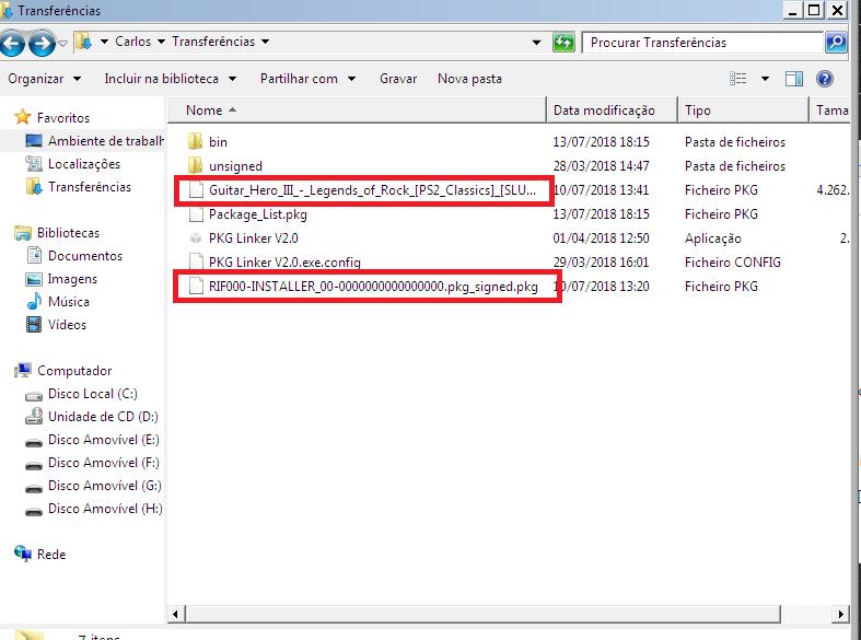 Como usar o PKG Linker 2.0 Saaa10