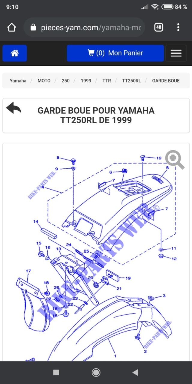 Yamaha 250 TTR 1999 de Merlin Screen11
