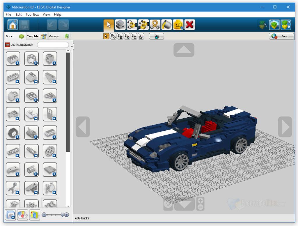 Diseño de modelos en LEGO por computadora - LEGO Digital Designer Lego-d10