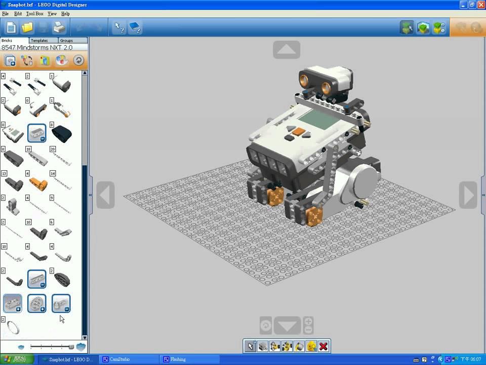 Diseño de modelos en LEGO por computadora - LEGO Digital Designer Maxres10