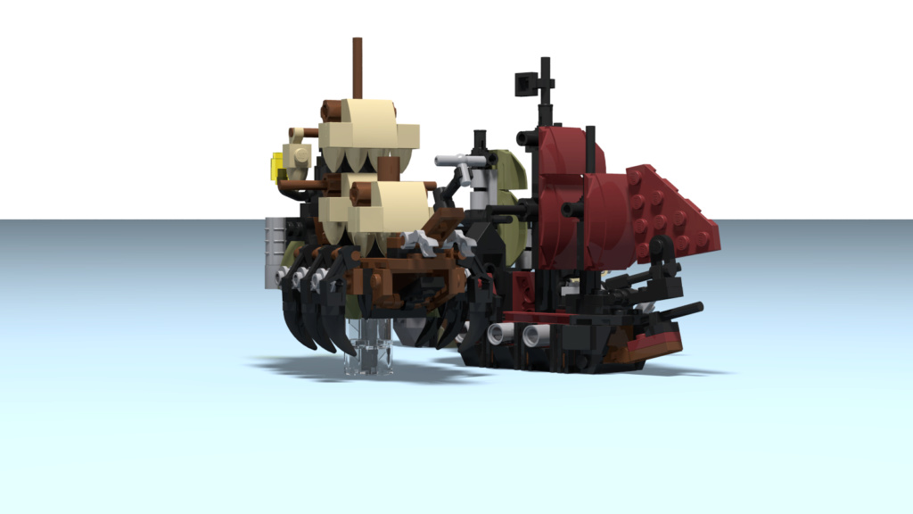 lego mini piratas del caribe Queen_11